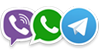 Viber и Whatsapp
